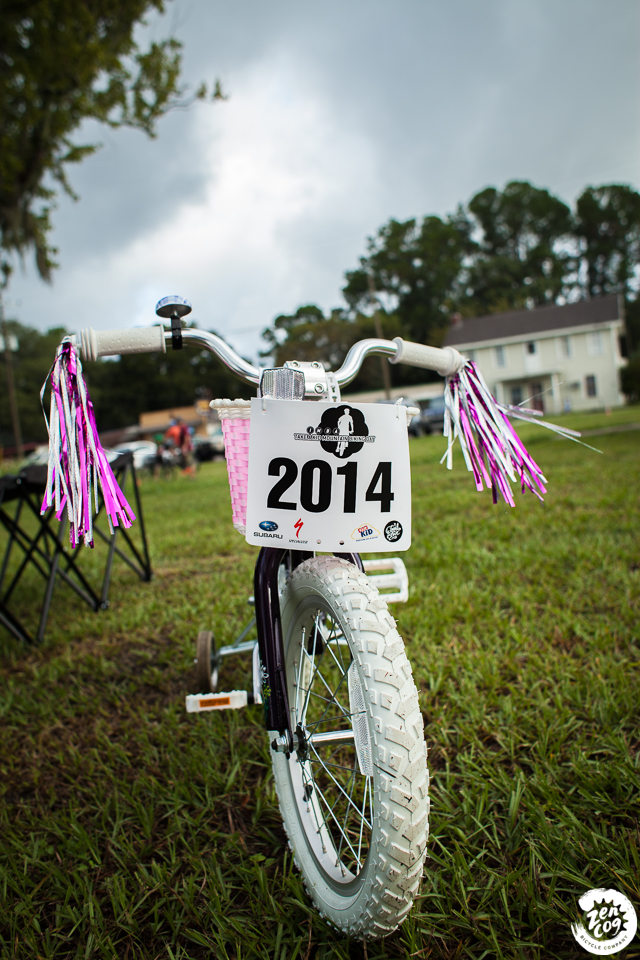 Take a Kid Mountain Biking 2014 - Jacksonville Florida - Tillie