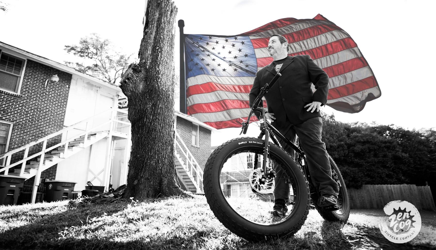 bike shop owner, cyclist, presidential, Garf Cooper, Surly, Surly Ice Cream Truck, Fat Bike